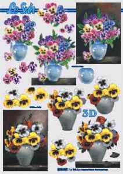 3D ark - Stemor i vase
