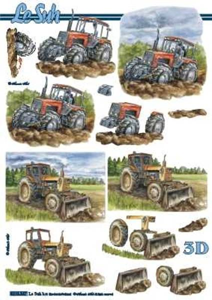3D ark - Traktor