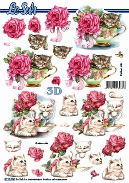 3D ark - katter