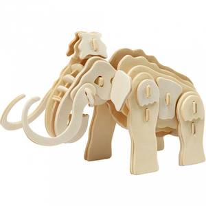 Bilde av 3D Puzzle 19x8,5x11 cm Mammut
