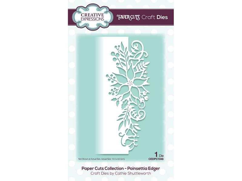 Creative Expressions Dies – Poinsettia Edger